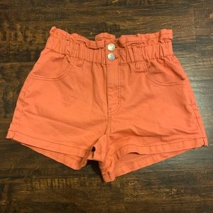 Wild Fable Paperbag Waist Shorts